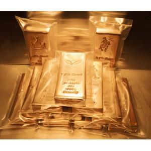 10 kg Kupferbarren 999 fein copper 10 x 1000g