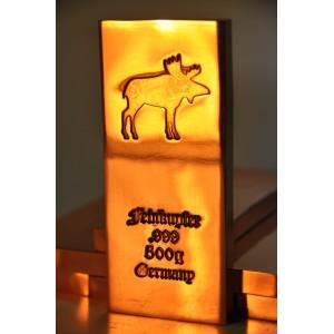500 gramm Kupferbarren