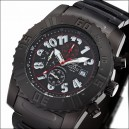 FIREFOX Chronograph BLACK ANVIL FFS150-A schwarz Number
