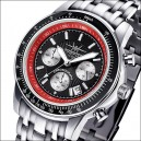 FIREFOX Chronograph AIRLINER FFS04-102b schwarz/rot