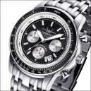 FIREFOX Chronograph AIRLINER FFS04-102a schwarz/weiß