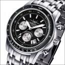 FIREFOX Chronograph AIRLINER FFS04-102c schwarz