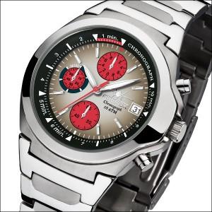 FIREFOX Chronograph CLASSIC FFS06-102d schwarz/rot