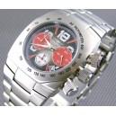 FIREFOX Chronograph HURRICANE FFS80-102 schwarz/rot