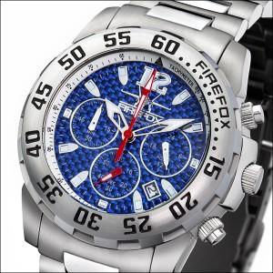FIREFOX GLOBALIZER Chronograph FFS35-103 Carbon blau