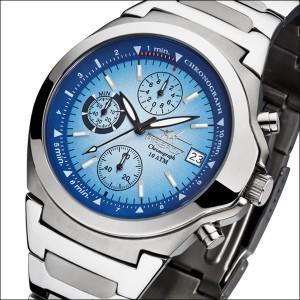 FIREFOX Edelstahl Chronograph CLASSIC FFS06-103 blau