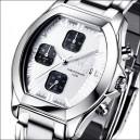 FIREFOX Damen Chronograph NEBUKADNEZAR FFS175-101 weiß/schwarz
