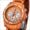 FIREFOX Aluminium Chronograph ORANGE FFA01-150