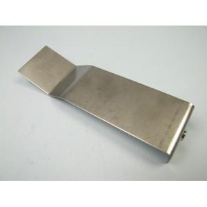 Große Flache Edelstahl-Elektrode