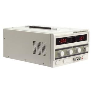Labornetzgerät  0-30V, 0-10A regelbar, 2x LC-Anzeige