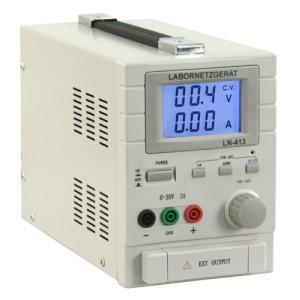 Gleichrichter  0-30V, 0-3A, JumboDisplay
