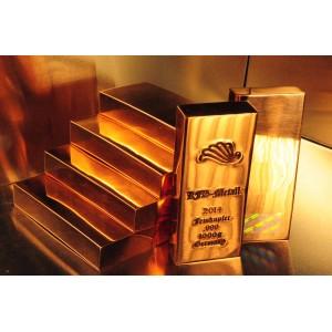 1 kg Kupferbarren 999 fein copper kupfer 1 X 1000 gr.