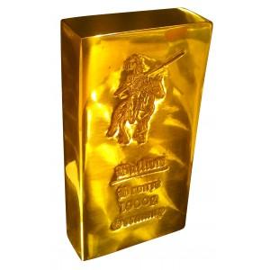 1 kg Bronzebarren fein Bronze barren 1000g Bullion
