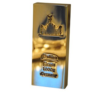 1 kg Messingbarren fein Brass barren 1000g Bullion